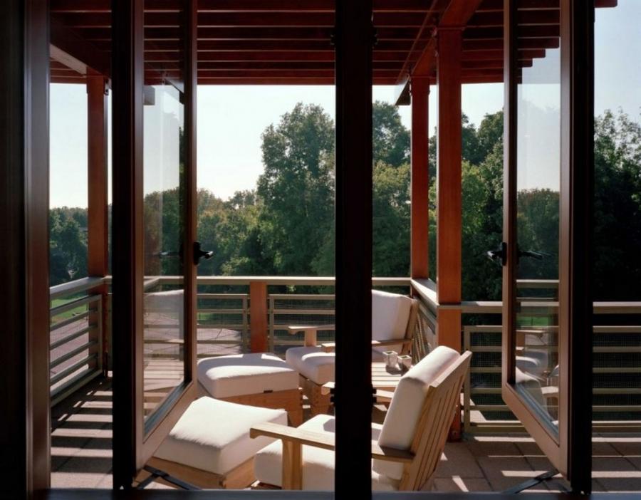 House design with balcony photo for Balcony renovation