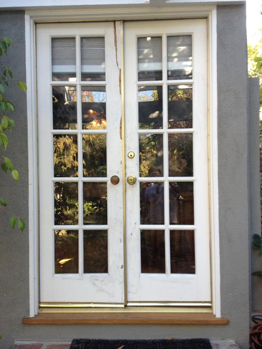 Residential Double French Door Replacement