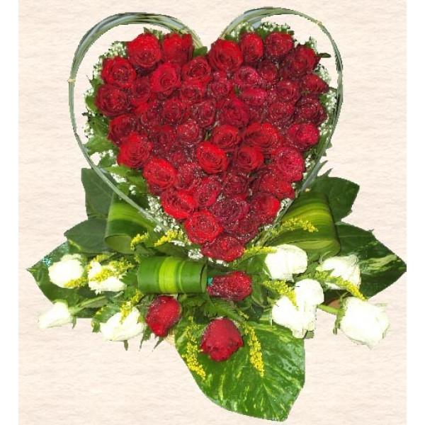 love heart shaped flowerflower - photo #46