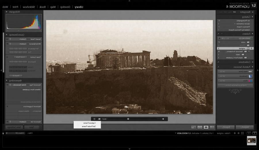 Lightroom 5 6 editing services