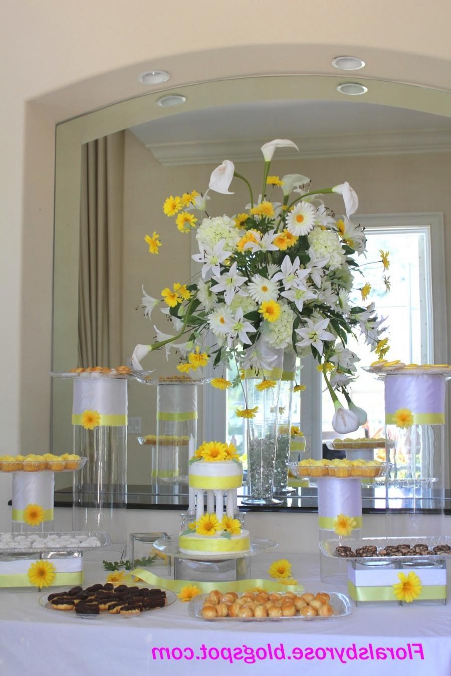 Buffet Table Decorations Photos