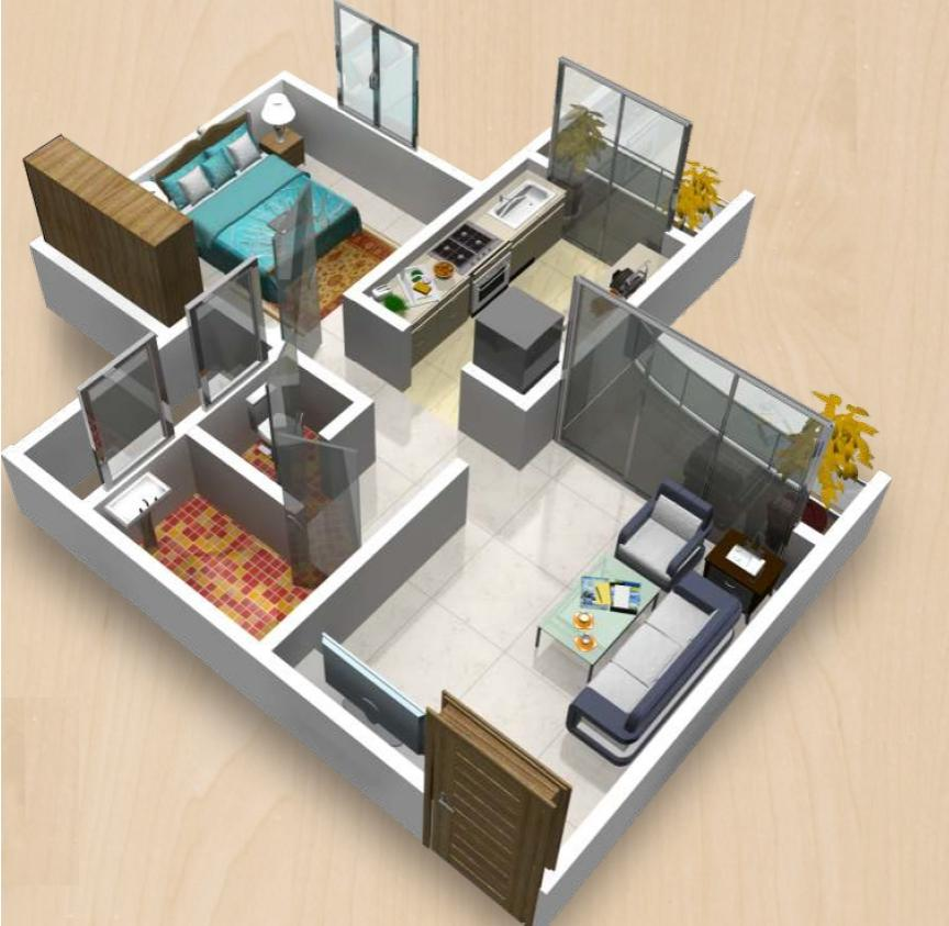 Interior design photos for 1bhk for 1 bhk flat interior decoration