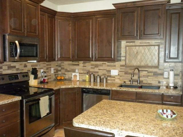 traditional kitchen backsplash photos
