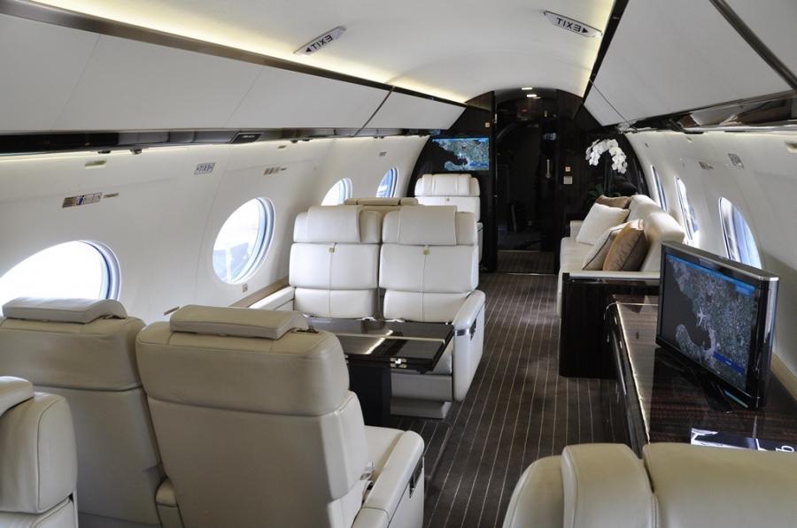 Gulfstream G650 Interior Photos