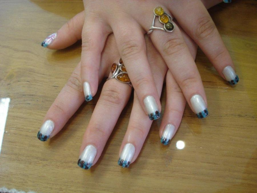 photo decoration ongle en gel