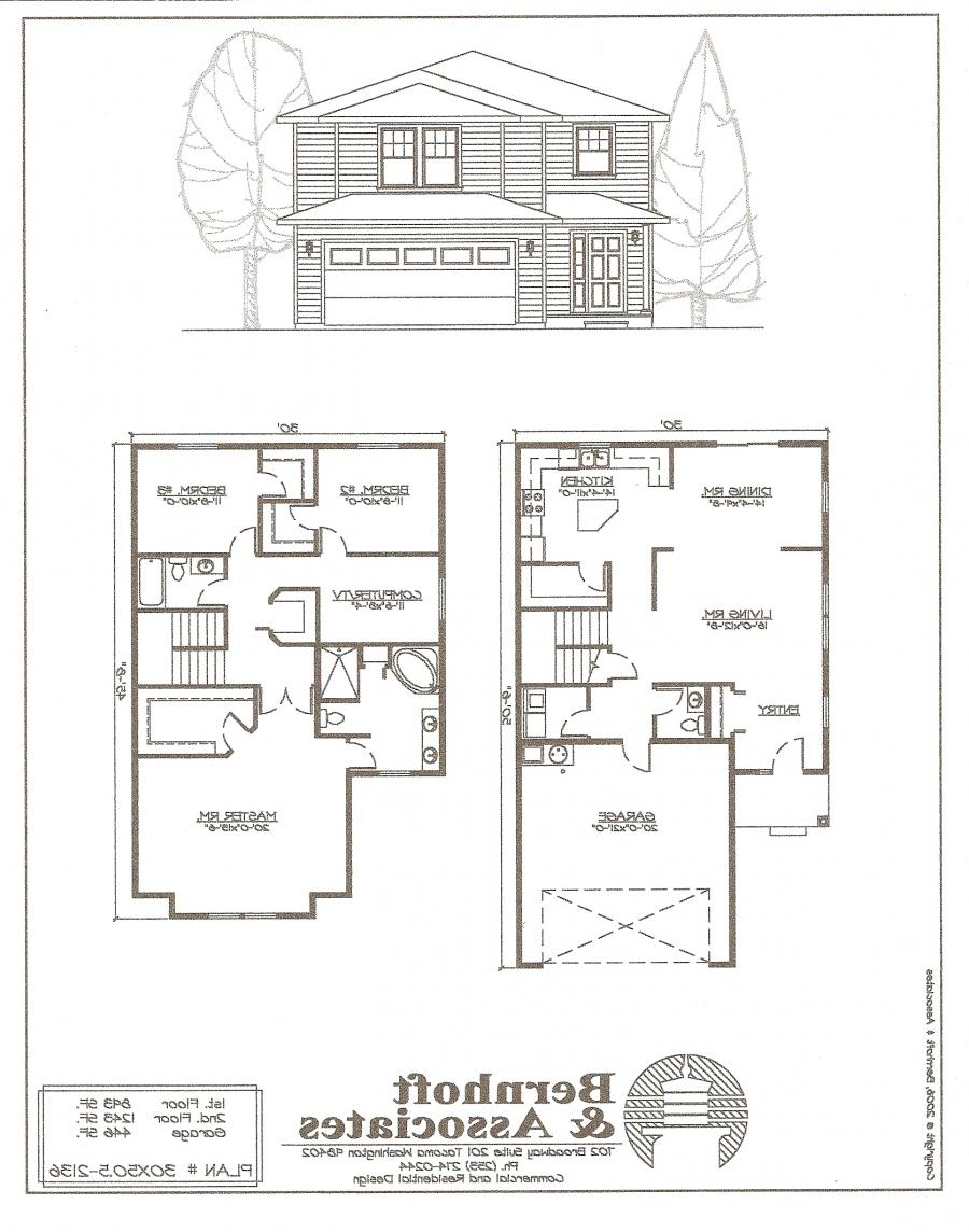 Single family house plans photos Single family home floor plans