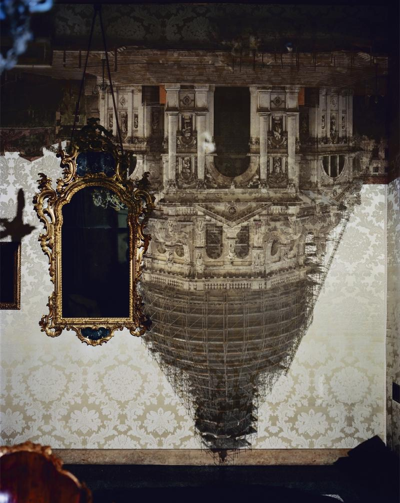 Photographer Abelardo Morell transforms darkened living spaces...