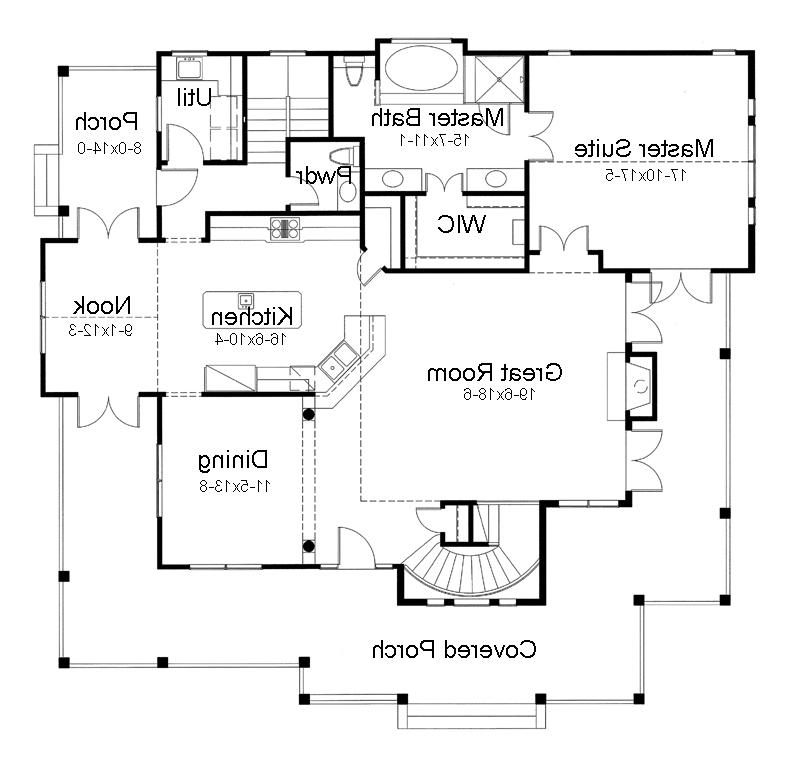 One Story House Plans With Photos