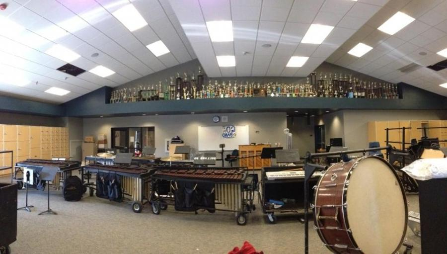 New band room opens for use