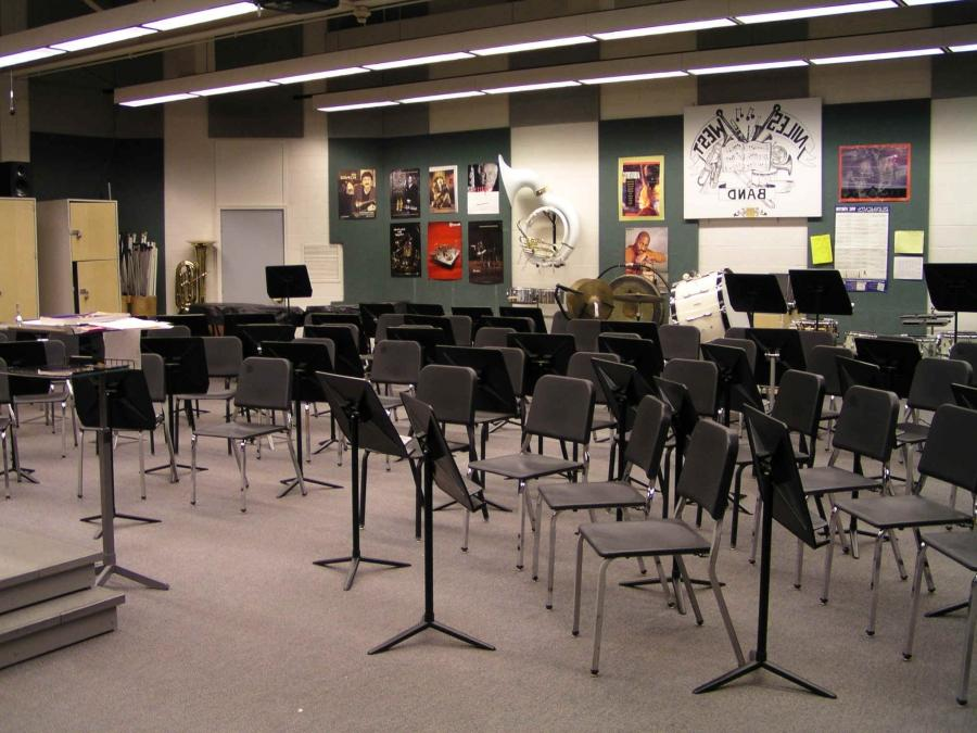 picture of band room