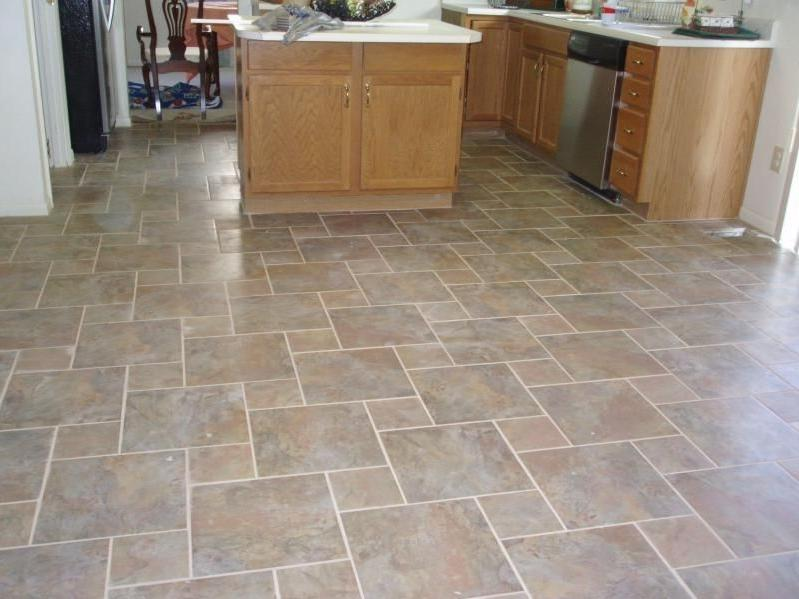 Comfortable Kitchen Floor Tile Designs Ideas Comfortable Kitchen