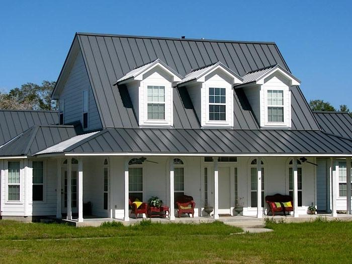 Homes With Metal Roofs Photos