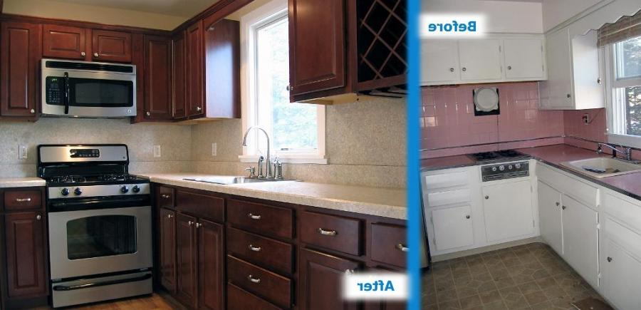 update cupboard kitchen before and after remodels Kitchen Before ...
