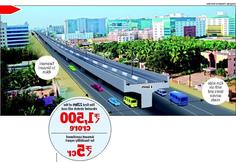 Design for elevated corridor done by US-based engineering firm...