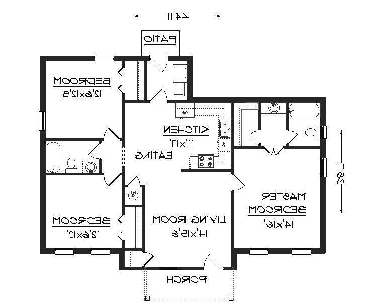 3 bedroom house plans photos india for 3 bedroom house maps designs india