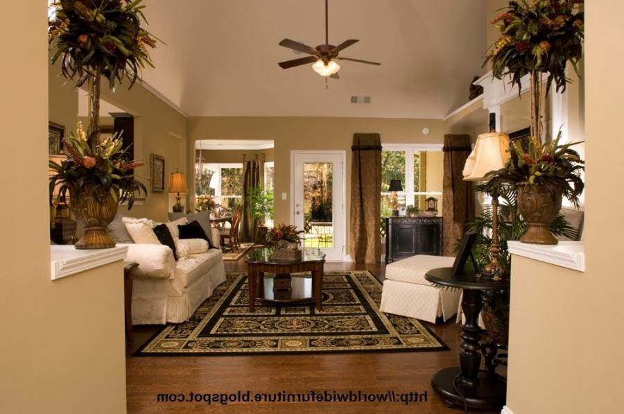 Pottery barn living rooms photos for Warm inviting living room ideas