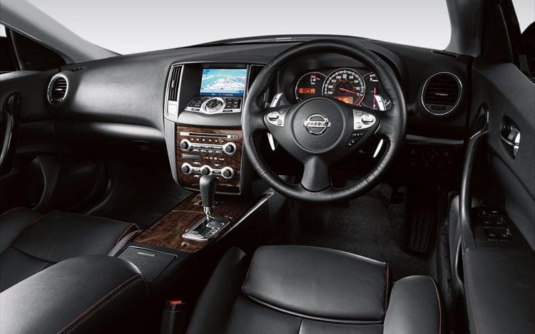 2002 Nissan Maxima Interior Photos