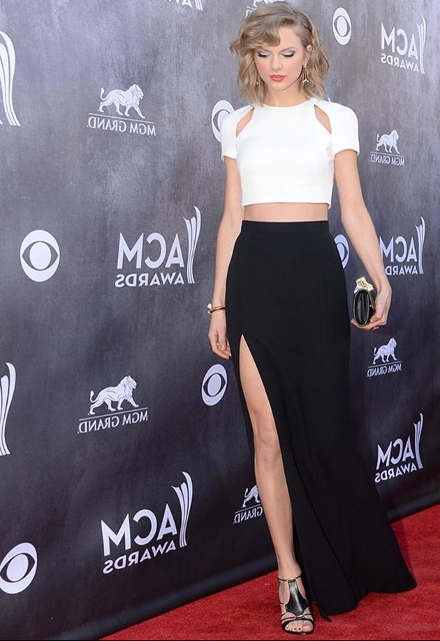 Taylor Swift 2014 Academy of Country Music Red Carpet