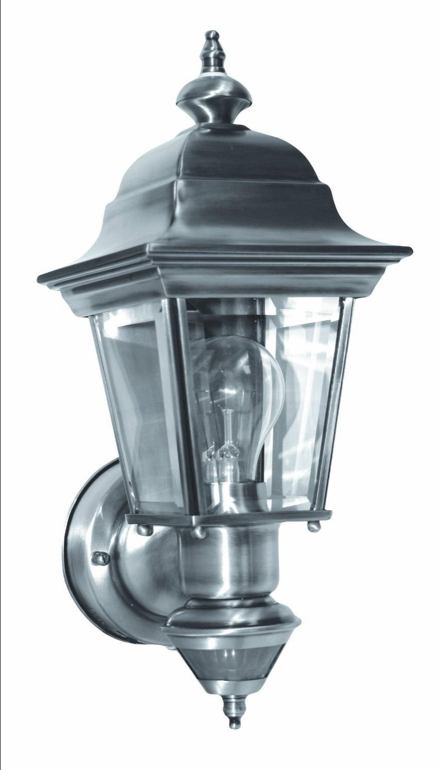Motion Activated Porch Light Model SL-4155-AB