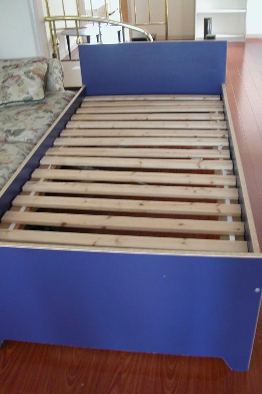 Photos ikea brekke twin bed for Ikea twin xl