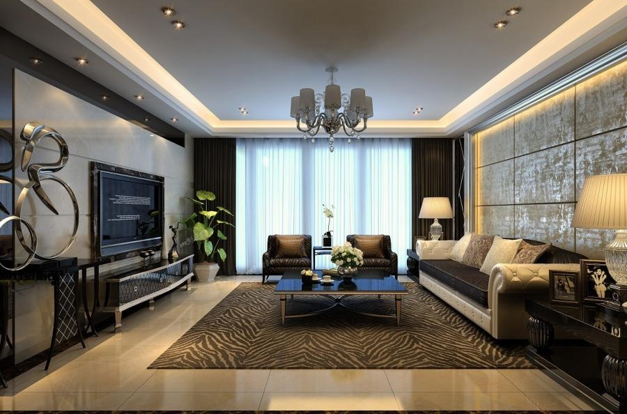 Photos Of Furnished Living Rooms