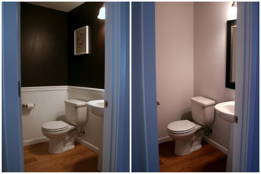 Small Half Bathroom Photos