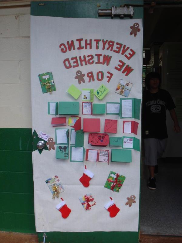Christmas Door Decorating Contests Photos