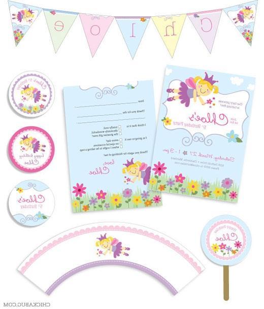 Garden fairy party supplies