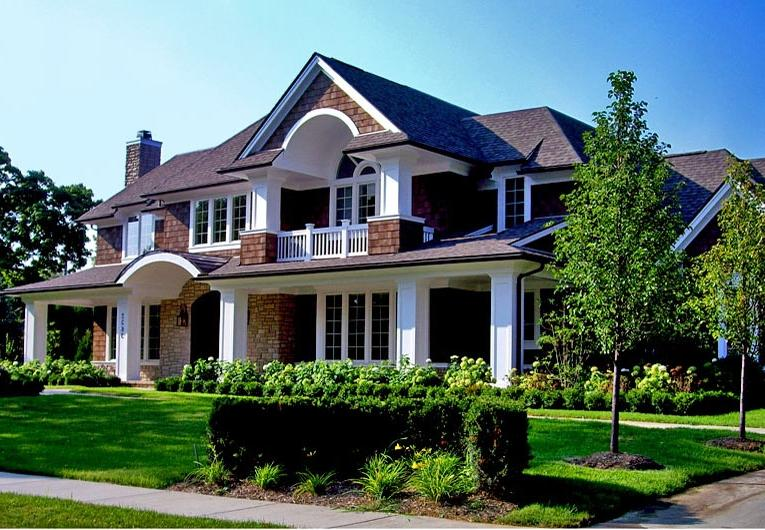 Exterior Bloomfield Hills Architecture House Design ...