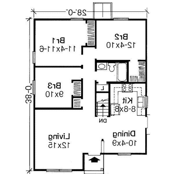 Three Bedroom House Plans With Photos