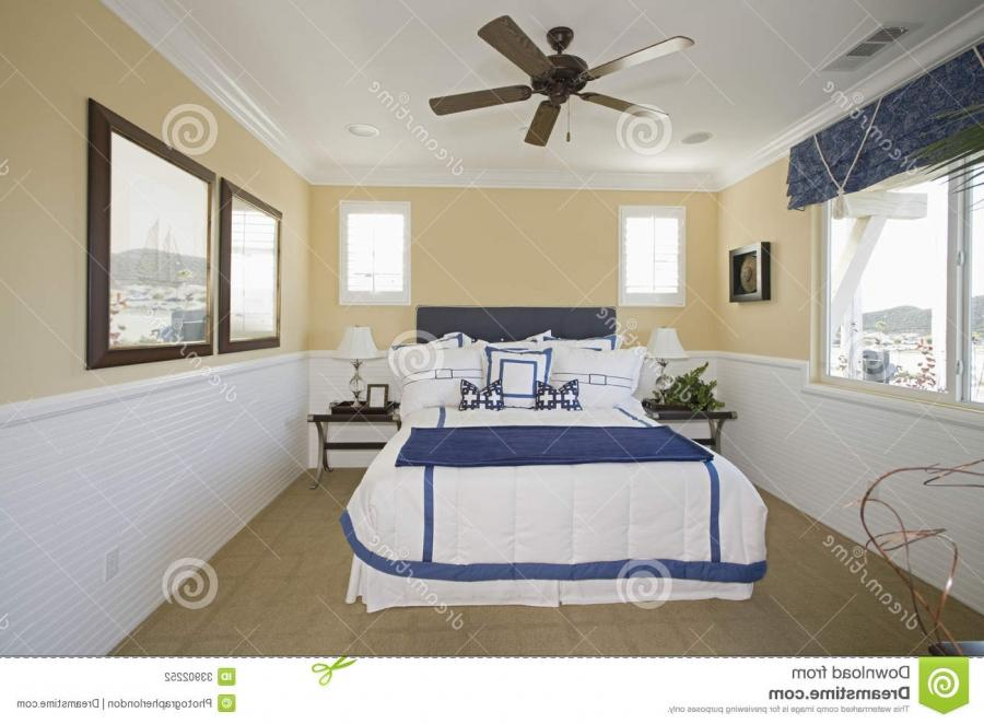 Nautical Themed Bedroom Stock Photography Image 33902252