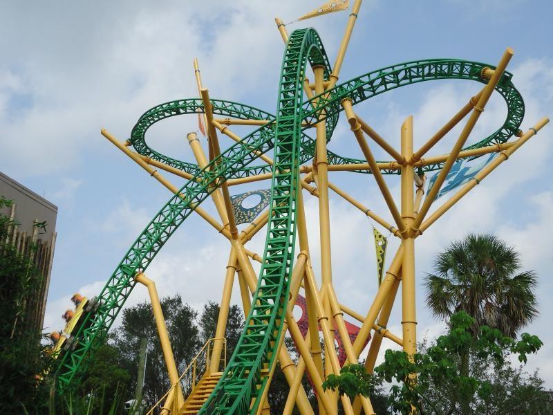 Busch Gardens Ride Photos