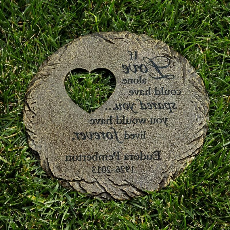 Pin Garden Memorial Stones On Pinterest