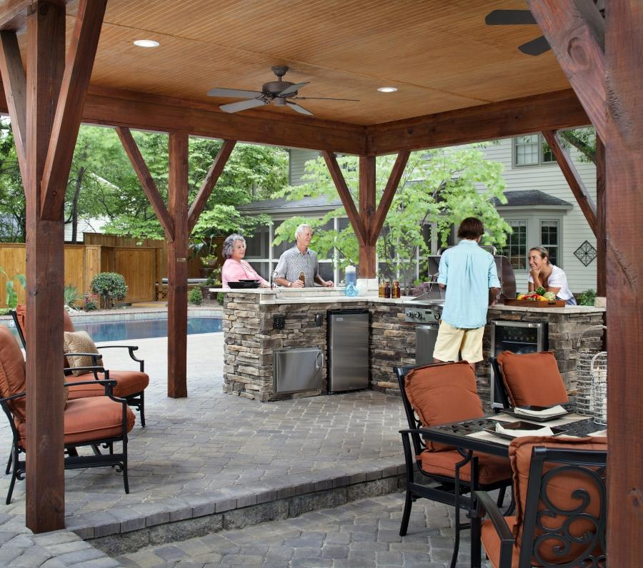 Photos Of Covered Outdoor Kitchens