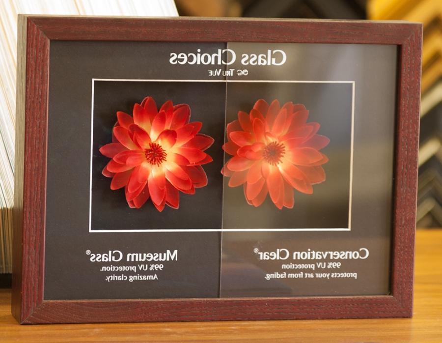 uv glass photo frames