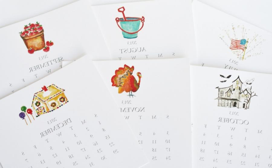 Desk Calendar Design Your Own : Make your own desk calendar photos