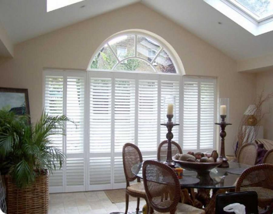 Interior window treatment photos for Discount bay windows