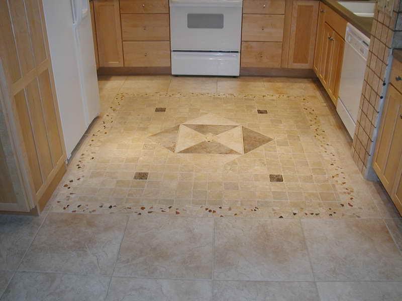 Comtravertine Kitchen Floor : Kitchen Floor Tiles Glamorous Travertine Kitchen Floor Tile... source
