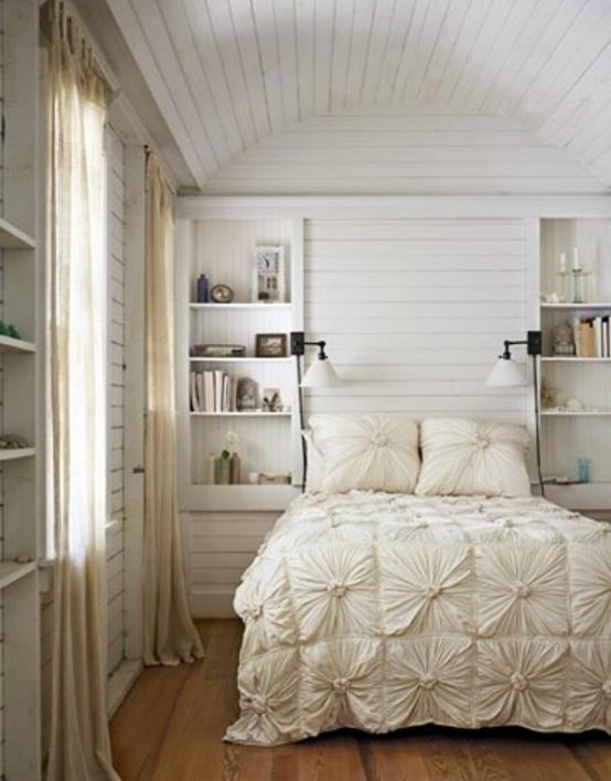 Charming Impressive Bedrooms In White