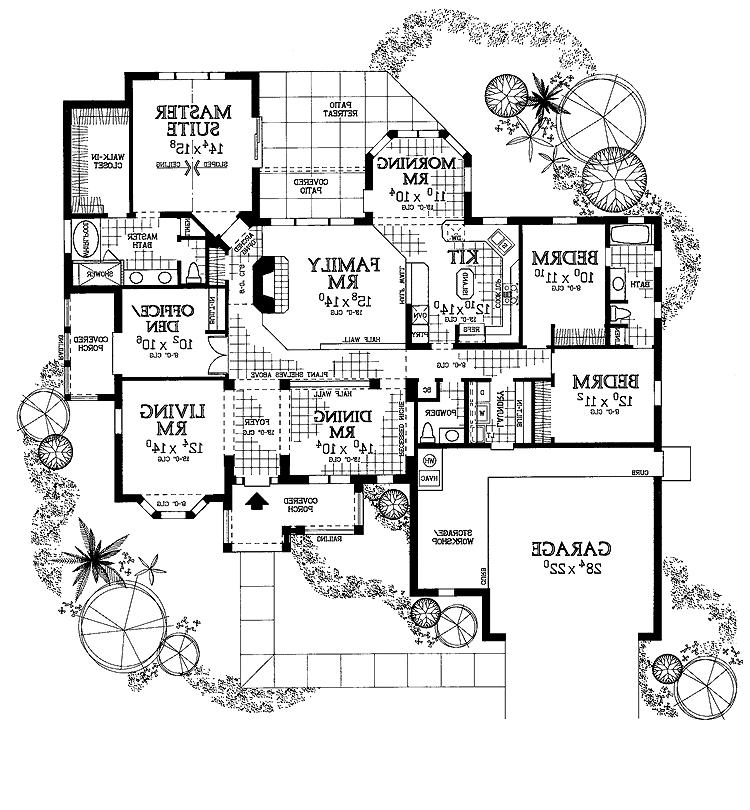 European style house plans with photos for European style house floor plans