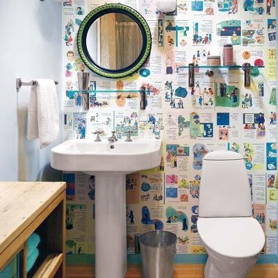 Идеи ремонта в ванной комнате своими руками