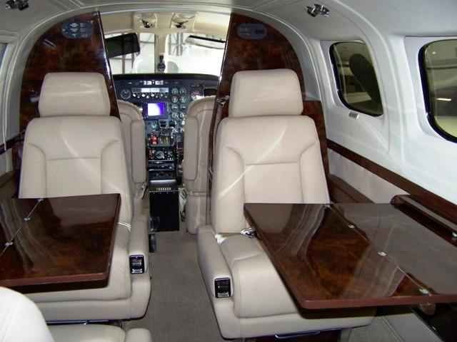 Golden Auto Sales >> Cessna 421 interior photos