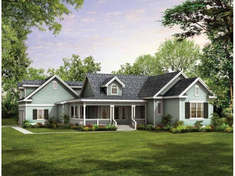 One story houses photos for Dream source house plans