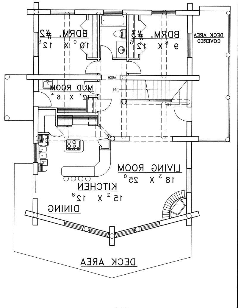 Mountain house plans photos for Nantahala floor plan