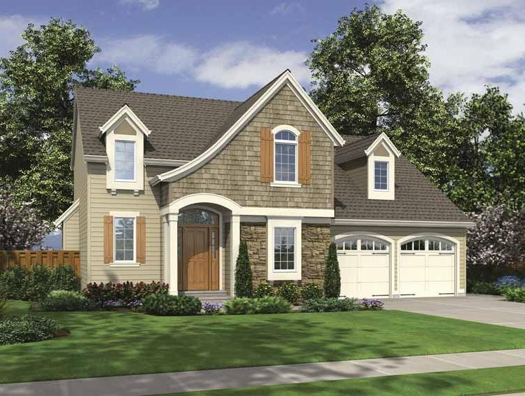 Cape cod house plans photo gallery for Single story cape cod house plans