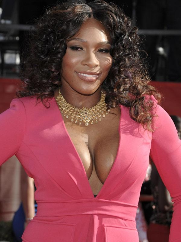 Serena Williams Wardrobe Malfunction Photos Pictures