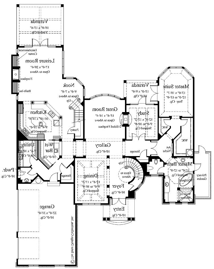 Italian House Plans With Photos