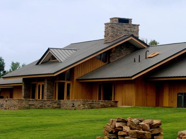 Homes metal roofs photos for Tin roof house designs