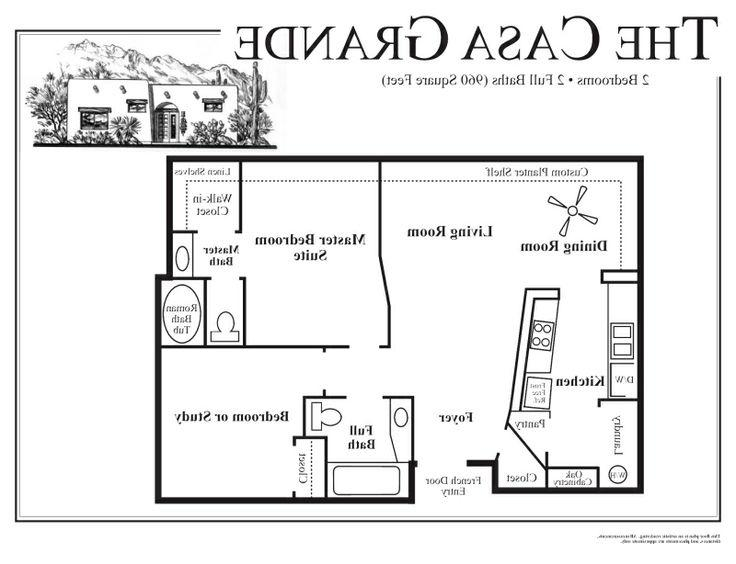 Adobe house plans with photos for Small adobe house plans