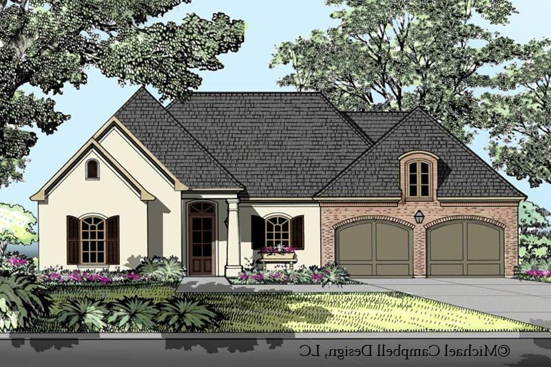 French Country House Plans Photos
